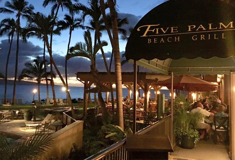 5 Palms Restaurant On Maui South